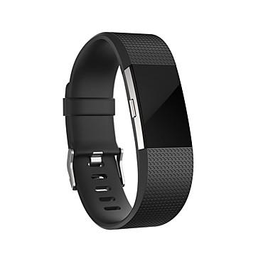رخيصةأون أساور ساعات FitBit-حزام إلى Fitbit Charge 2 فيتبيت عصابة الرياضة سيليكون شريط المعصم