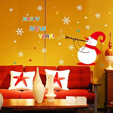 لواصق حائط مزخرفة - لواصق مناظر طبيعية / كريستمس غرفة الجلوس / غرفة النوم / دورة المياه