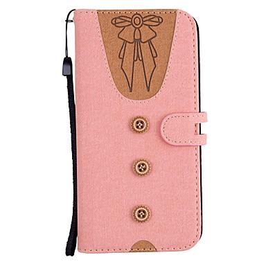 Недорогие Чехлы и кейсы для LG-Кейс для Назначение LG Xperia XZ2 / Xperia XA2 / Sony Xperia XZ1 Кошелек / Бумажник для карт / со стендом Чехол Соблазнительная девушка Твердый Кожа PU