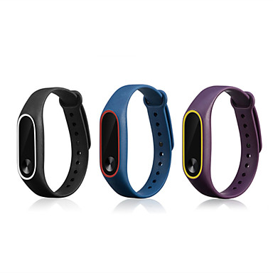 cheap Smartwatch Accessories-Watch Band for Mi Band 2 Xiaomi Sport Band Silicone Wrist Strap