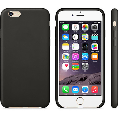 voordelige iPhone 5 hoesjes-hoesje Voor Apple iPhone 8 Plus / iPhone 8 / iPhone 7 Plus Mat Achterkant Effen Zacht Siliconen