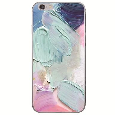 voordelige iPhone 5 hoesjes-hoesje Voor Apple iPhone XS / iPhone XR / iPhone XS Max Ultradun / Patroon Achterkant Landschap / Olieverfschilderij Zacht TPU