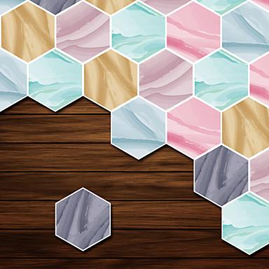 สติ๊กเกอร์ประดับผนัง - 3D สติ๊กเกอร์แปะกำแพง ชุดรัดรูป / 3D ห้องนั่งเล่น / ห้องนอน / ห้องอาบน้ำ
