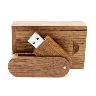 olcso USB pendrive-ok-Ants 16 GB USB hordozható tároló usb lemez USB 2.0 Fa / Bambusz Forgatható
