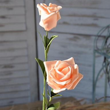 زهور اصطناعية 1 فرع كلاسيكي الحديث المعاصر الورود أزهار الطاولة