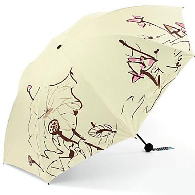 البوليستر / ستانلس ستيل الجميع مشمس وممطر / السوبر للماء مظلة ملطية