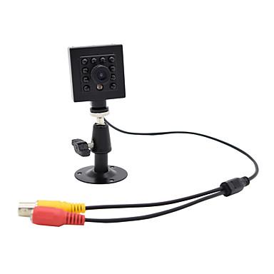 Hqcam 800tvl cmos 0.03lux 10 قطع 940nm ir led الأمن داخلي ir 1/3 بوصة كاميرا cmos ir مصغرة / مربع الكاميرا