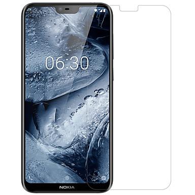 olcso Nokia képernyővédők-NokiaScreen ProtectorNokia X6 Ultravékony Elülső és fényképezőgép objektívvédő 1 db PET