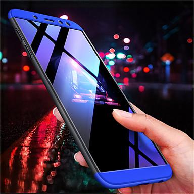 Недорогие Чехлы и кейсы для Galaxy А-Кейс для Назначение SSamsung Galaxy A6 (2018) / A8 2018 / A8+ 2018 Матовое Кейс на заднюю панель Однотонный Твердый ПК