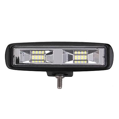 olcso LED-es autó fényszórók-1 darab Autó Izzók 204 W Integrált LED 2400 lm 16 LED külső világítás For Univerzalno 2018