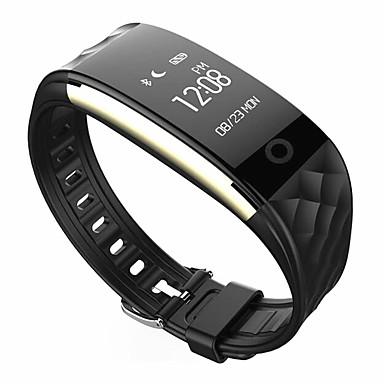 رخيصةأون ساعات ذكية-سمارت ووتش SR05 إلى iOS / Android رصد معدل ضربات القلب / رمادي داكن / إسبات الطويل / مؤقت / شاشة لمس / مقاوم للماء / كاميرا / عداد الخطى / متتبع النوم / حساس الجاذبية