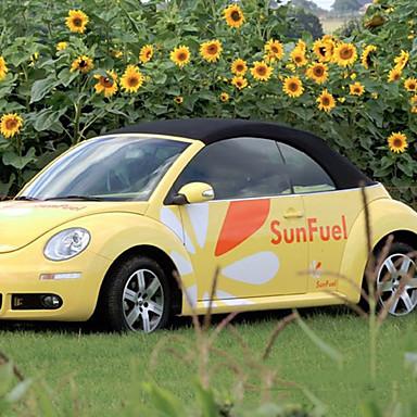 برتقالي Car Stickers كرتون ملصقات الباب حيوان ملصقات