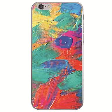 voordelige iPhone-hoesjes-hoesje Voor Apple iPhone X / iPhone 8 Plus / iPhone 8 Ultradun / Patroon Achterkant Landschap / Olieverfschilderij Zacht TPU