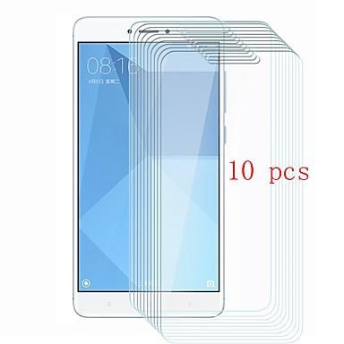 Недорогие Защитные плёнки для экранов Xiaomi-XIAOMIScreen ProtectorXiaomi Redmi Note 4 Уровень защиты 9H Защитная пленка для экрана 10 ед. Закаленное стекло