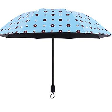 Poliéster / Acero Inoxidable Todo Creativo / Nuevo diseño Paraguas de Doblar