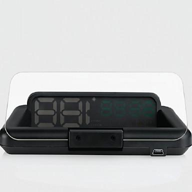 Недорогие Приборы для проекции на лобовое стекло-INFOS T900 4.3 дюймовый ЖК-экран Anolog 420TVL 1208 x 1208 Датчик CMOS Проводное 60° 10 pcs 60/ 15 ° 90*203.6 дюймовый Дисплей заголовка Автоматическое конфигурирование / Ночное видение для Автомобиль