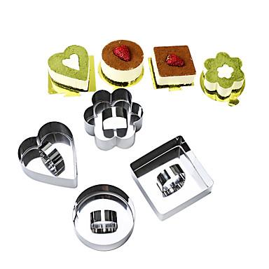 أدوات خبز الفولاذ المقاوم للصدأ قادم جديد / اصنع بنفسك Everyday Use / أدوات المطبخ الحديثة أدوات حلوى 4PCS