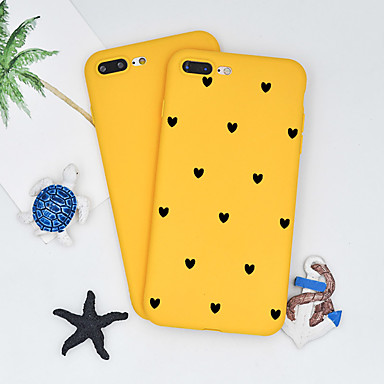 voordelige iPhone 5 hoesjes-hoesje Voor Apple iPhone XS / iPhone XR / iPhone XS Max Patroon Achterkant Hart / Cartoon Zacht TPU