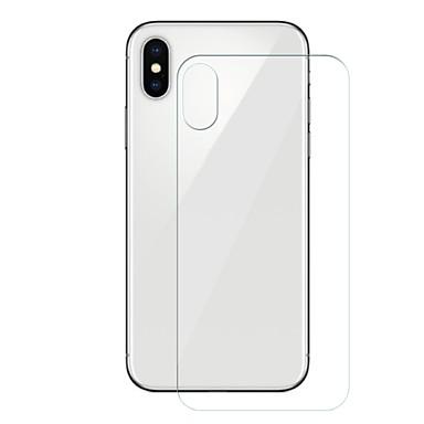 olcso iPhone X képernyővédő fóliák-AppleScreen ProtectoriPhone X 9H erősség Hátlap fólia 1 db Edzett üveg