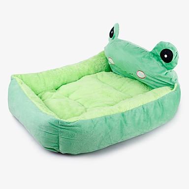 القوارض كلاب الأرانب مرتبة السرير الأسرّة أسرة بطانيات السرير قماش حيوانات أليفة سلال حيوان مصغرة مضاعف أخضر