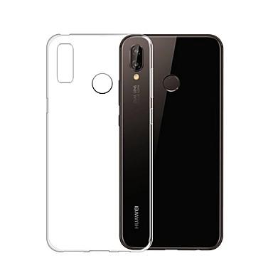 Θήκη Za Huawei Huawei P20 / Huawei P20 Pro / Huawei P20 lite Ultra tanko / Prozirno Stražnja maska Jednobojni Mekano TPU