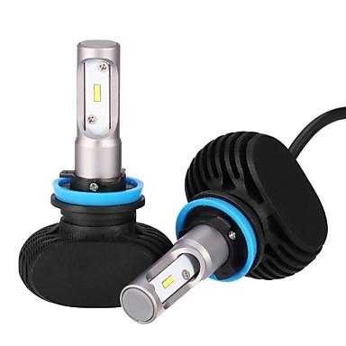 Недорогие Автомобильные фары-2pcs H9 / H11 / H8 Лампы 25 W Интегрированный LED 2500 lm 6 Светодиодная лампа Налобный фонарь 2018