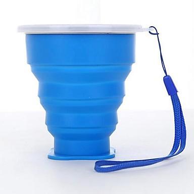 DRINKWARE كأس ماء × 2 جسم كامل سيليكون المحمول / الضغط الرياضة & في الخارج