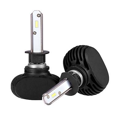 2pcs H1 Glödlampor 25 W Integrerad LED 2500 lm 6 LED Strålkastare 2018