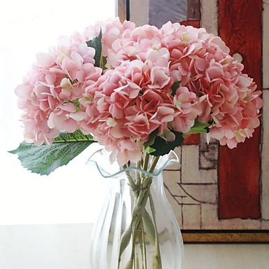 زهور اصطناعية 1 فرع كلاسيكي الحديثة / المعاصرة أرطنسية أزهار الطاولة