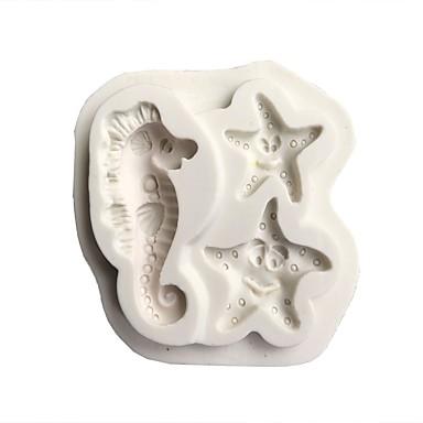 أدوات خبز جل السيليكا محبوب / 3D كعكة حيوان قوالب الكيك 1PC