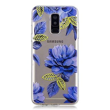 غطاء من أجل Samsung Galaxy A6+ (2018) / A6 (2018) شفاف / نموذج غطاء خلفي زهور ناعم TPU إلى A6 (2018) / A6+ (2018) / A3 (2017)