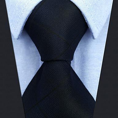 ربطة العنق لون سادة / شيك / خملة الجاكوارد رجالي حفلة / عمل