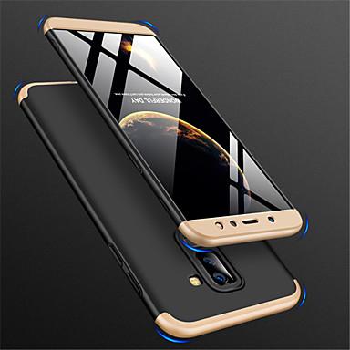 رخيصةأون حافظات / جرابات هواتف جالكسي A-غطاء من أجل Samsung Galaxy A6 (2018) / A6+ (2018) / A8 2018 مثلج غطاء خلفي لون سادة قاسي الكمبيوتر الشخصي