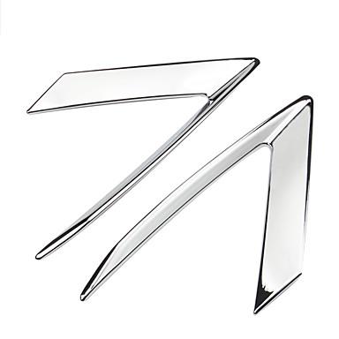 2pcs سيارة الحاجب الخفيف الأعمال التجارية نوع اللصق إلى كشافات من أجل كاديلاك XT5 كل السنوات