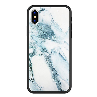 غطاء من أجل Apple iPhone X / iPhone 8 Plus / iPhone 8 نموذج غطاء خلفي حجر كريم قاسي أكريليك