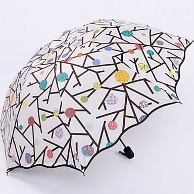 البوليستر / ستانلس ستيل الجميع مشمس وممطر / تصميم جديد مظلة ملطية