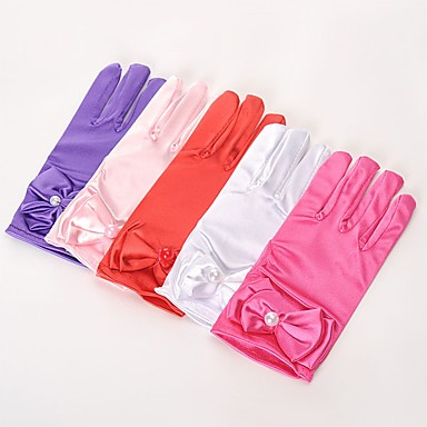 cheap Women's Jewelry-Spandex Fabric Wrist Length Glove Vintage Style / Gloves With Solid