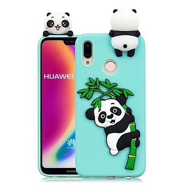 povoljno Maske za mobitele-Θήκη Za Huawei Huawei P20 / Huawei P20 Pro / Huawei P20 lite Uradi sam Stražnja maska Panda Mekano TPU / P10 Lite / P10