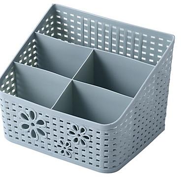 بلاستيك مستطيل تصميم جديد / كوول الصفحة الرئيسية منظمة, 1PC منظمو أداة / تخزين الماكياج