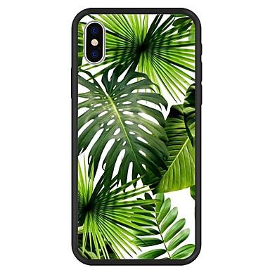 voordelige iPhone 6 hoesjes-hoesje Voor Apple iPhone X / iPhone 8 Plus / iPhone 8 Patroon Achterkant Planten / Cartoon / Boom Hard Acryl