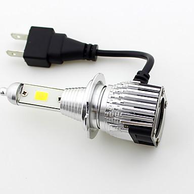 ieftine Becuri De Mașină LED-SO.K 2pcs 9003 / H7 / H4 Mașină Becuri 30 W LED Integrat / COB / LED Performanță Mare 8000 lm 2 LED Lumini exterioare Toți Anii