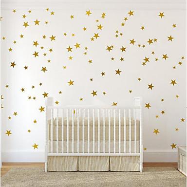 Ozdobné samolepky na zeď - Samolepky na stěnu Hvězdy Dětský pokoj / dětský pokoj