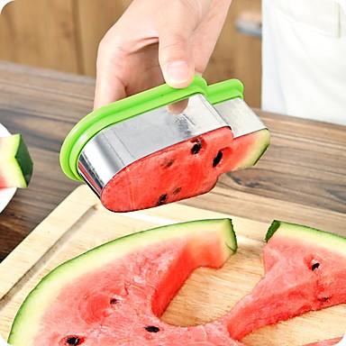 تقطيع البطيخ المقاوم للصدأ الآيس كريم المصاصة نموذج القاطع أدوات المطبخ ديي