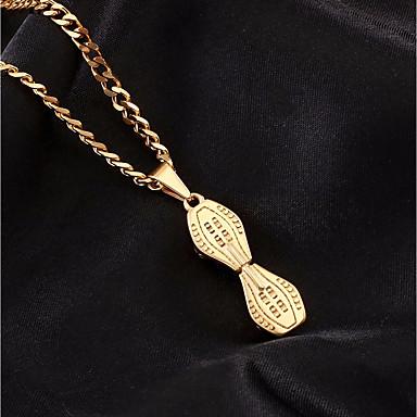 c5b36c3c8596 Hombre Enlace cubano Collares con colgantes Collares de cadena Acero  Inoxidable Serpiente Monopatín Europeo De moda Hip-Hop Cool Dorado Plata 60  cm ...