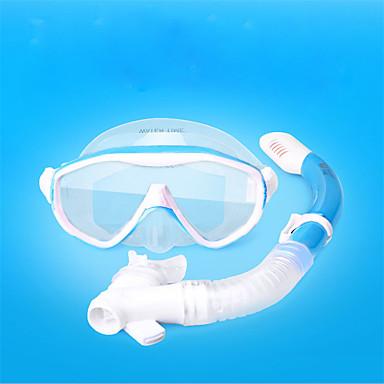 olcso Szörfözés-Búvárkodás csomagok - Búvármaszk Légzőcső - Vízálló Gyermekek / Tinik Száraz felsőrész Úszás Búvárkodás Szabadtüdős merülés FRP POM  mert Gyerekek