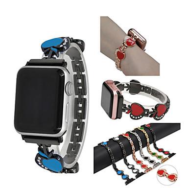 حزام إلى أبل ووتش سلسلة 5/4/3/2/1 Apple عصابة الرياضة ستانلس ستيل شريط المعصم