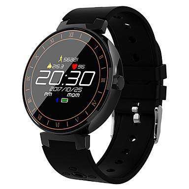 رخيصةأون ساعات ذكية-L8 smart watch bt 4.0 Fitness tracker support يخطر & تعقب الرياضية شاشة مستديرة smartwatch الروبوت آند الهواتف النقالة المتوافقة