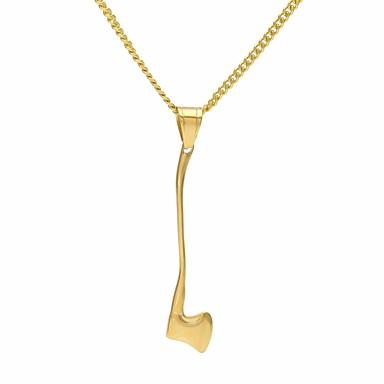 نسائي ستايل قلائد الحلي قلادة طويلة ستانلس ستيل خلاق سيدات بسيط تصميم فريد شائع كوول ذهبي 60 cm قلادة مجوهرات 1PC من أجل مناسب للبس اليومي مناسب للعطلات
