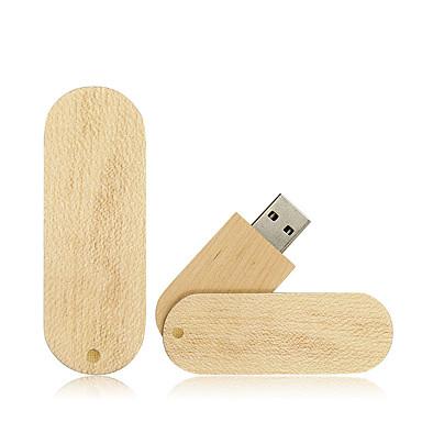 Ants 64GB محرك فلاش USB قرص أوسب USB 2.0 خشبي / بامبو متناوب
