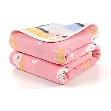 povoljno Modni dodaci za djecu-Beba Uniseks Biljke Deka Blushing Pink / Plava One-Size